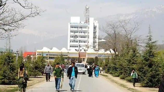 Kashmir University.(HT file)