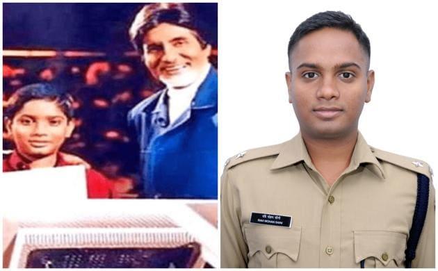 Ravi Mohan Saini won KBC Junior in 2001, when he was 14 years old.(Screengrab/Sardar Vallabhbhai Patel National Police Academy)