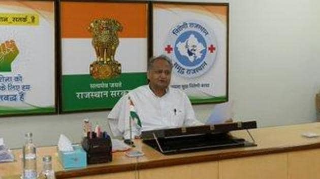 A finance department official had stated that the biggest drop in tax revenue was seen in stamps and registration and vehicle tax because there was virtually no sale of property and vehicles. (Photo @ashokgehlot51)