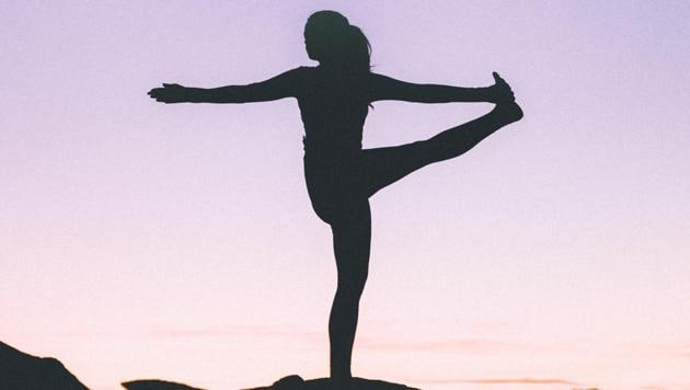 Try these Yoga asanas to ease menstrual problems.(Unsplash)