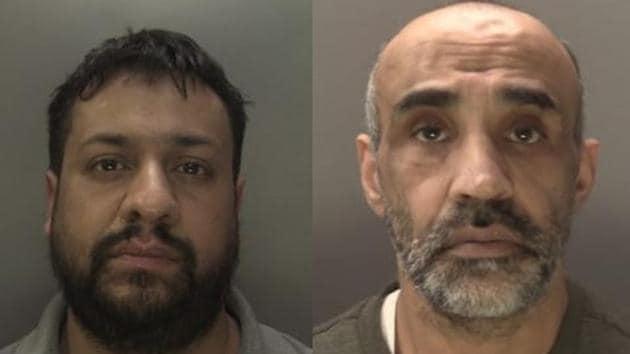 The two jailed are Baldev Singh Sahota, 54, from Oldbury in the West Midlands and Shakti Gupta, 34, from Birmingham(Photo courtesy: Scotland Yard)