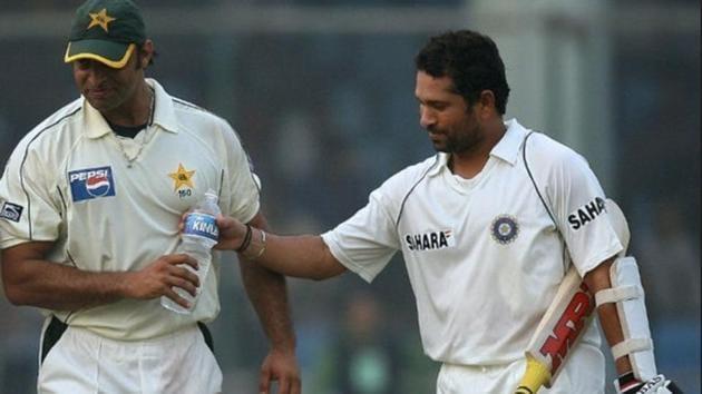 File image of Sachin Tendulkar and Shoaib Akhtar.(Getty)