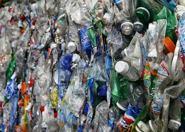 Plastic, not fantastic: One of the stories in this collection features a woman who attempts to throw every bit of plastic out of her home.(Justin Sullivan/Getty Images)