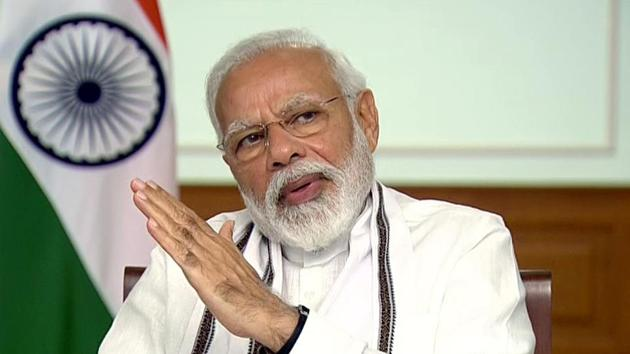 Prime Minister Narendra Modi emphasised on the need to enhance consumer satisfaction, while increasing operational efficiency and improving financial sustainability of the power sector, the official statement said.(ANI file photo)