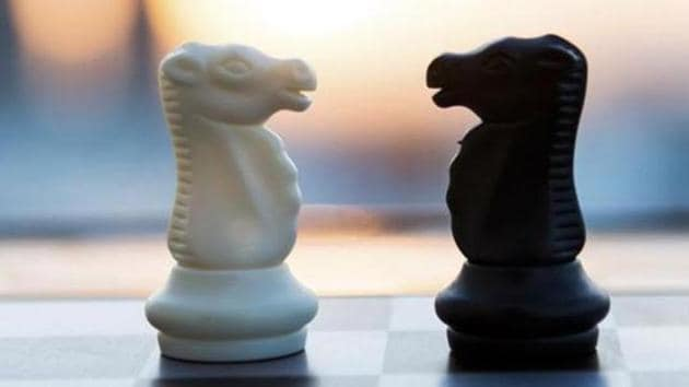 Chess board and pieces in a chess game.(Getty Images/iStockphoto)