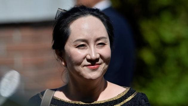 Huawei Technologies chief financial officer Meng Wanzhou faces charges of misleading a bank in an effort to sidestep American sanctions on the Iranian regime.(Reuters Photo)