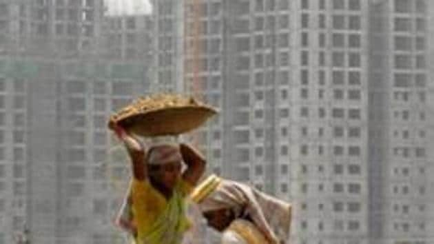 The government must immediately initiate a huge programme involving new construction. The construction sector uses a lot of labour and is a hub multiplier for other industries such as steel, cement and paints(REUTERS)