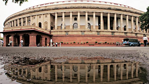 A view of the Indian parliament building(REUTERS)