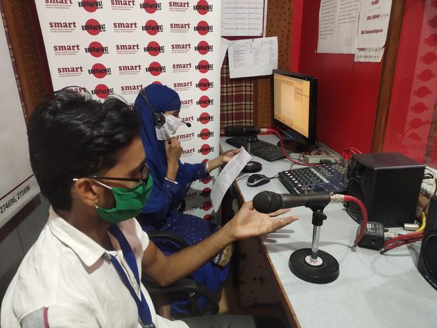 Imran is a reporter and presenter at Radio Mewat, a community radio station in Mewat.