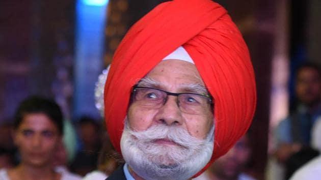 Balbir Singh Senior(HT Photo)