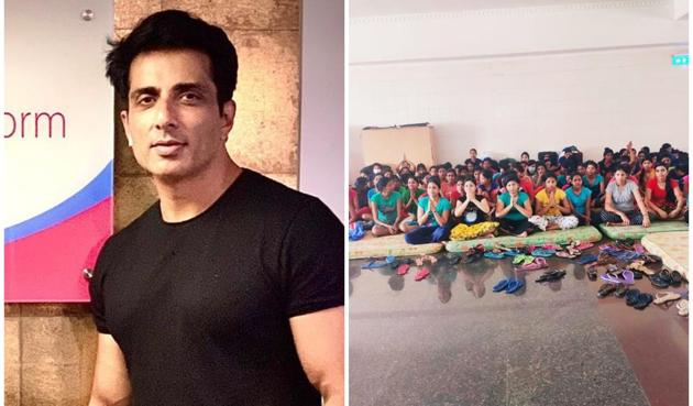 Sonu Sood came to the rescue of 169 girls from Odisha who were stranded in Kerala.