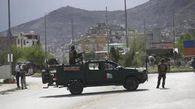 Kabul: Afghan security forces inspect the site of a bomb explosion in Kabul, Afghanistan, Monday, May 18, 2020/ representative.(AP)