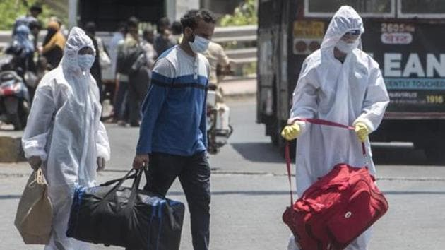 Maharashtra is the worst-hit state amid the Covid-19 pandemic with the highest concentration of coronavirus positive patients in the country.(HT PHOTO.)