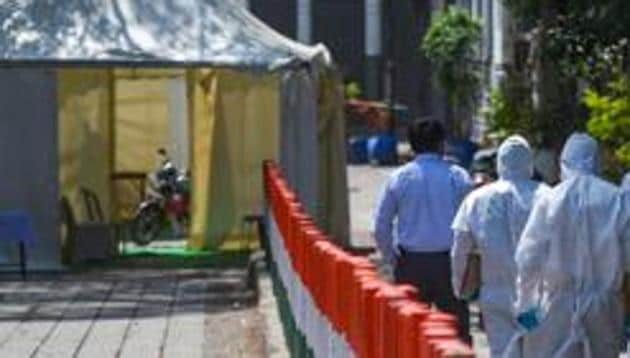 Delhi Police Crime Branch had filed a criminal case against Jamaat chief Saad and six other officials of the organisation in March for defying a series of government directives, which curbed religious and large gatherings to contain the spread of Covid-19 in the national capital.(Amal KS/HT FIle)