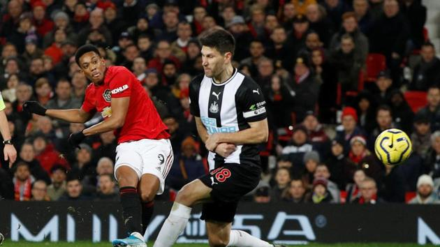Soccer Football - Premier League - Manchester United v Newcastle United - Old Trafford, Manchester, Britain - December 26, 2019(REUTERS)