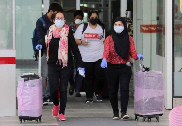 The five flights that arrived on May 28 carried 512 passengers, including 208 from Punjab and 64 from Mohali.(HT File Photo)