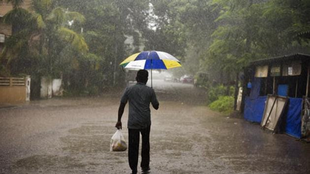 Light rain and thunderstorms Delhi and nearby areas on Thursday.(AP Photo)