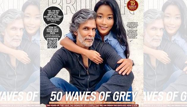 This May cover of HT Brunch, featuring Milind Soman and Ankita Konwar, was shot remotely through Zoom(Subi Samuel)