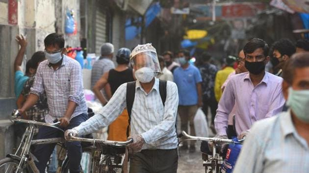 The Centre has claimed that there shall be no restriction on inter-state and intra-state movement of persons and goods. Also, no separate permission or approval or any e-permit will be required for such movements. (Photo by Raj K Raj/ Hindustan Times)