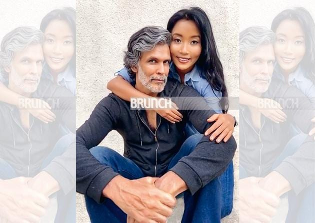 HT Brunch Cover Story: Milind Soman, Ankita Konwar and their ageless love story