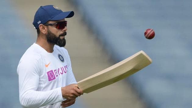 Virat Kohli ahead of the second Test between India and South Africa last year(AFP)