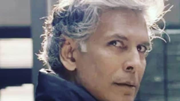Milind Soman, the 53-year-old man behind Pinkathon - India's biggest women-only marathon - never shies away from spreading awareness about health and fitness.(Milind Soman/ Instagram)
