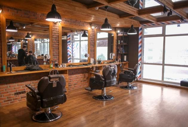 Salons in Gurugram are open, but some Gurugrammers have had to pay an extra charge for Covid-19 protection.(iStock Photo For Representational Purposes Only)