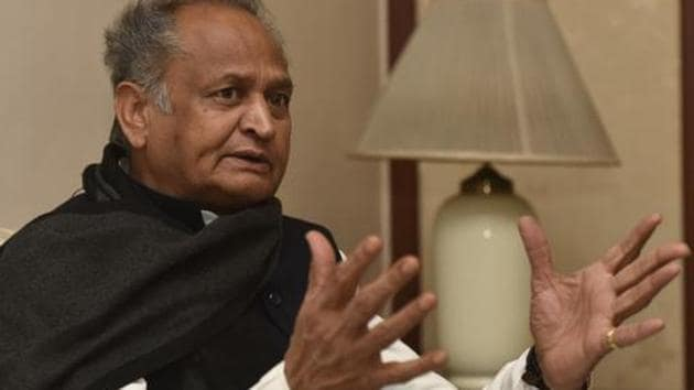 Gehlot took the decision in a high-level meeting with officials of the Education Department on Friday.(Anshuman Poyrekar/HT Photo)