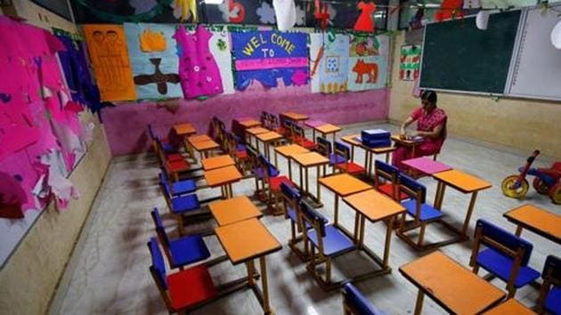 Schools across the country are closed due to the coronavirus pandemic for over two months now.(REUTERS Photo/Representative)