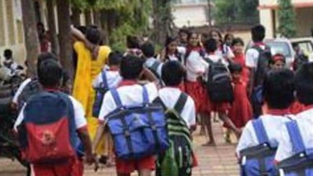 Recently, Maharashtra's Education Minister Varsha Gaikwad had made a statement suggesting schools could restart in June.(HT FILE PHOTO)