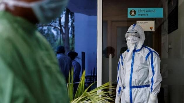 """In a digital press conference on Friday, Delhi health minister Satyendar Jain said the government was """"fully geared up"""" to handle more than 1,000 cases a day.(Reuters Photo)"""