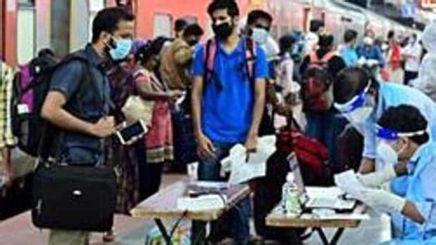 Kerala has seen a spike in Covid-19 cases following thr return of a large number of expatriates and other residents who were stranded in other parts of the country.(ANI)