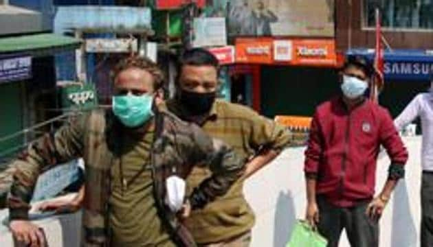 As per an order issued by district collector Manish Singh on Friday night, it was obligatory for people to wear surgical masks when they step out of their homes within the limits of the district, the official said.(ANI)