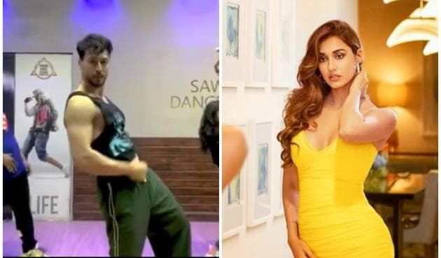 Disha Patani was blown away by Tiger Shroff's new dance video.
