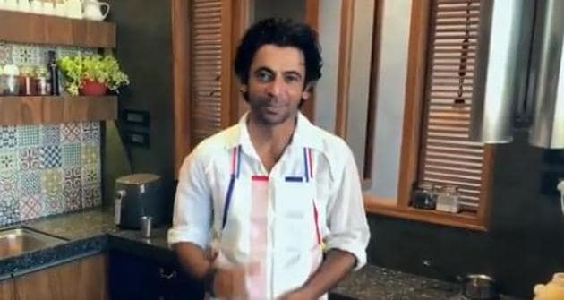 Sunil Grover in a still from his latest video.