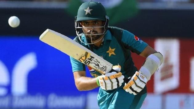 Babar Azam in action for Pakistan last year(AFP)
