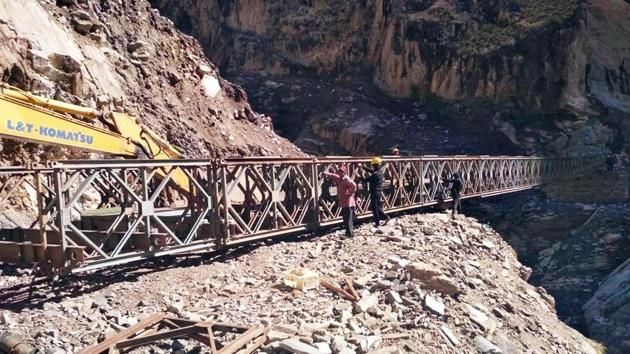 The Ladakh administration wrote to BRO on May 15 saying it has no objection to the labour force being inducted for work in the forward areas.(ANI Photo)