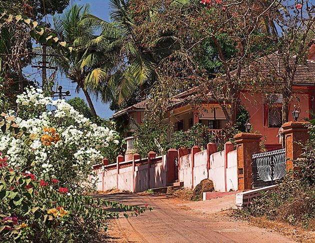 Picture of paradise: Even when there is no lockdown, the author says she meets very few people during her morning walks in rural Goa.(Andrew Woodley/Getty Images)