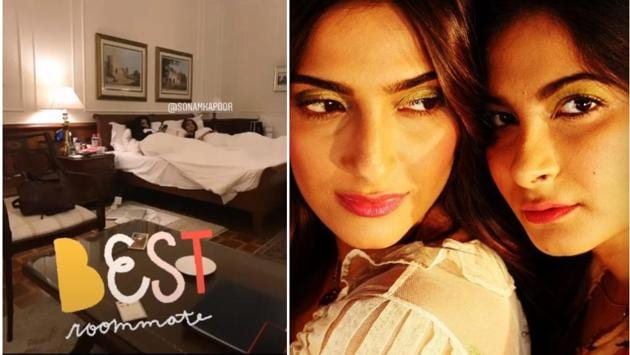 Sonam Kapoor and sister Rhea are very close.