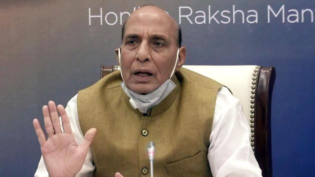 Union Defence Minister Rajnath Singh, asked about the current situation in sensitive areas in eastern Ladakh, said the Chinese have come up to what they claim is their territory while Indians believed it is theirs.(ANI)