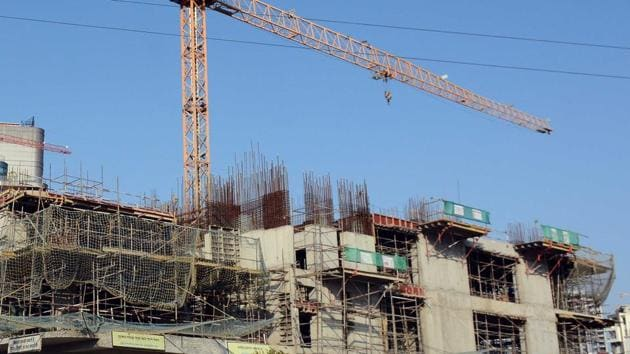 People getting residential building plans approved will benefit from reimposition of 2014 rates.(HT Photo)