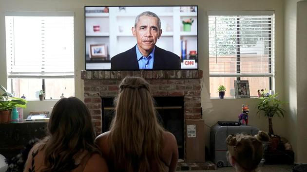 Obama urged protesters not to be cynical about politics, arguing that electing new leaders on the national and local levels would bring about change.(REUTERS File Photo)