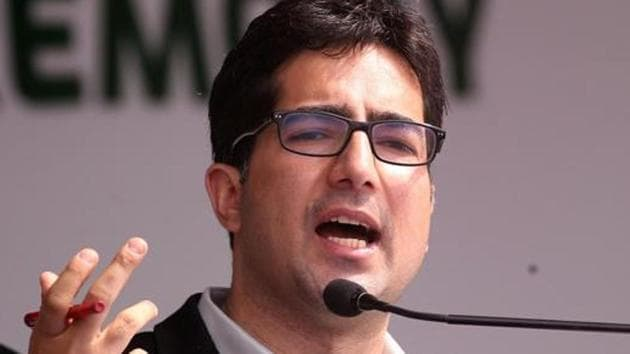Shah Faesal, had launched his political party named Jammu and Kashmir People's Movement last year.(REUTERS Photo)