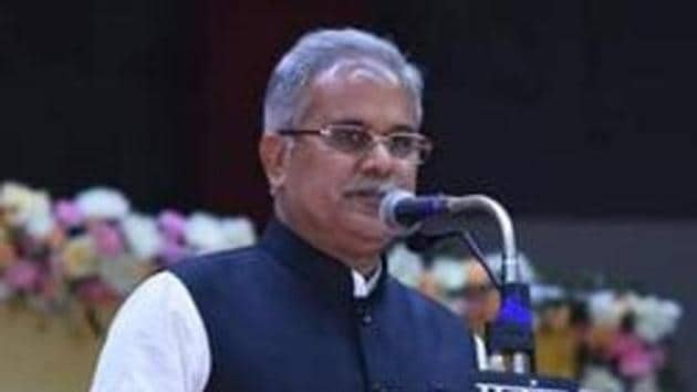 Chief minister Bhupesh Baghel led Chhattisgarh government has launched the campaign to check suicide and fratricide among the police personnel.(HT File Photo)