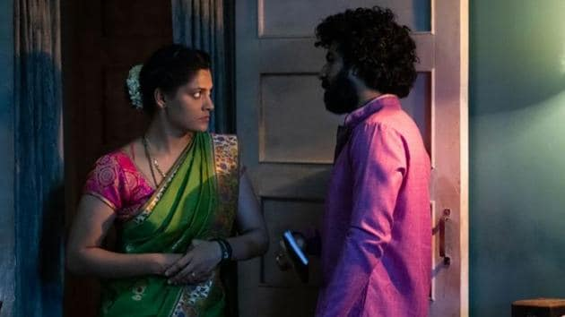 Choked movie review: Saiyami Kher and Roshan Mathew in a still from Anurag Kashyap's new Netflix film.