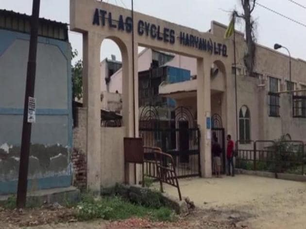 Close to two lakh cycles used to be produced in the factory per month.(ANI)