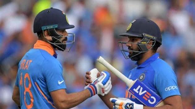 File image of India captain Virat Kohli (L) and Rohit Sharma.(AFP)
