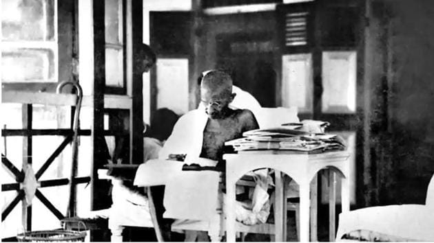 Gandhiji believed that India should be a secular country with no one religion being given preference.(HT File Photo)