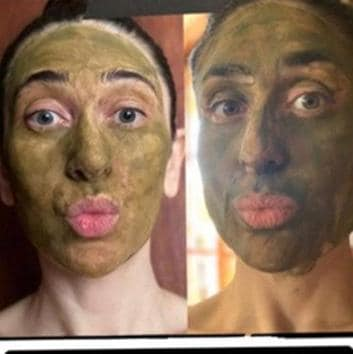 Amid the pandemic, many have turned to DIY skincare routines.(Photo: Instagram/therealkarismakapoor)