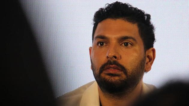 Former India batsman Yuvraj Singh has attracted unwanted attention(Getty Images)